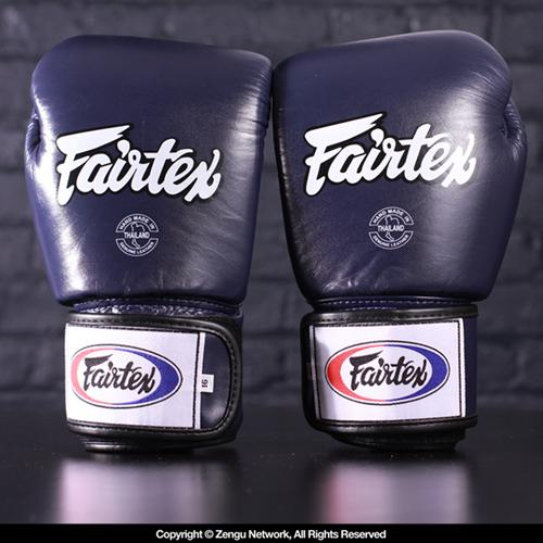 Fairtex Fairtex BGV1 Breathable Muay Thai Gloves - Blue